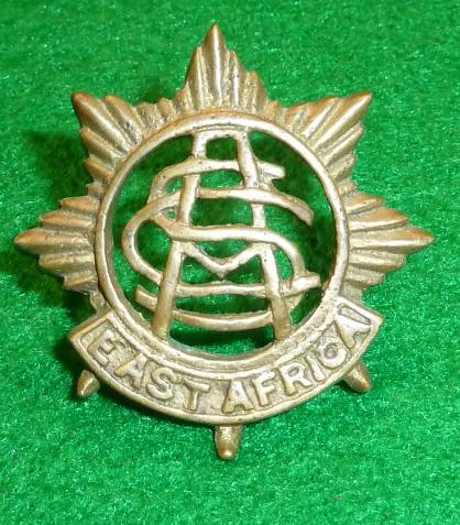 EAST AFRICAN ARMY SERVICE CORPS CAP BADGE