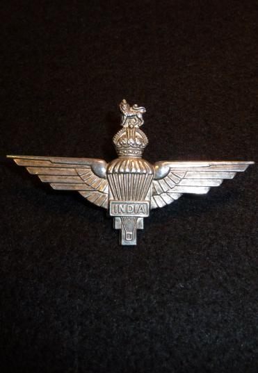 INDIA PARACHUTE REGIMENT OFFICERS CAP BADGE