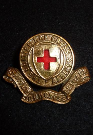 SCOTTER [LINCOLNSHIRE] RED CROSS BRIGADE BADGE