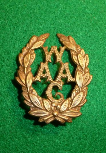 WOMENS ARMY AUXILIARY CORPS CAP BADGE