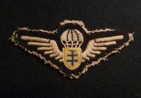 WW2 FREE FRENCH PARATROOPER WING