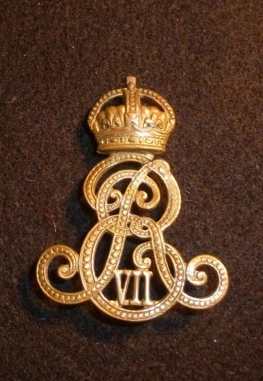 MILITARY PROVOST STAFF FORAGE CAP BADGE