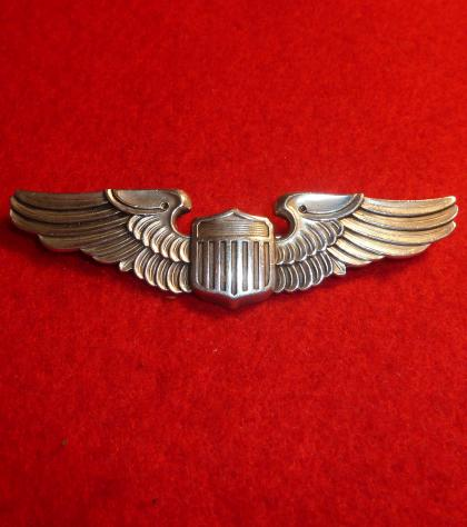 WW2 USA ARMY AIR FORCE PILOT WING
