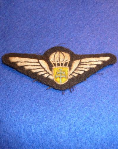WW2 FREE FRENCH PARATROOPER [SAS] WING