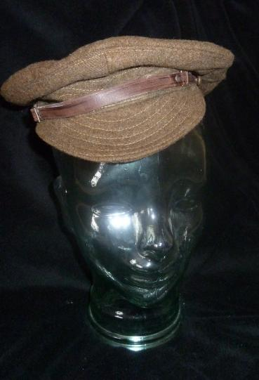 RARE WW1 SOFT SERGE CAP 1917 PATTERN BRITISH ARMY TRENCH CAP