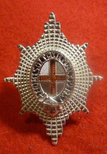 COLDSTREAM GUARDS OFFICERS CAP BADGE