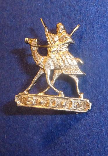 SUDAN DEFENCE FORCE OFFICERS CAP BADGE