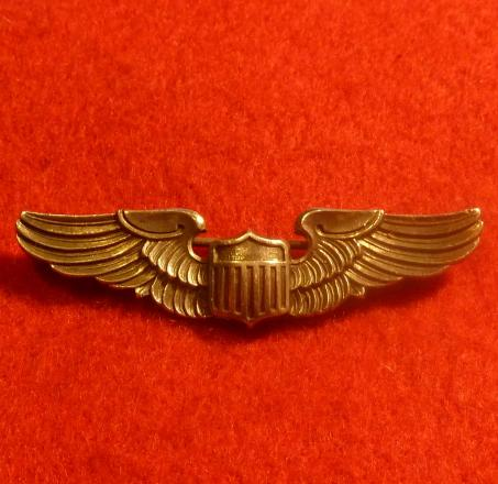 US AIR FORCE PILOTS WING BADGE